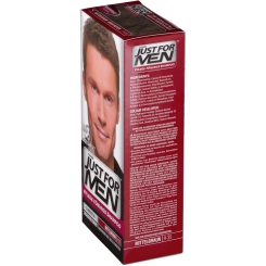 JUST FOR MEN Pflege-Tönungs-Shampoo mittelbraun