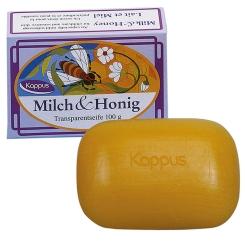 Kappus Milch und Honig Transp.Seife
