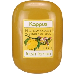 Kappus Pflanzenölseife fresh lemon
