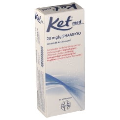 Ket® med 20 mg/g Shampoo