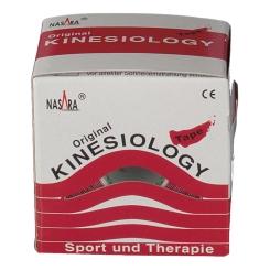 Kinesiologie Tape 5 cm x 5 m rot