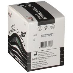 Kinesiologie Tape 5 cm x 5 m schwarz
