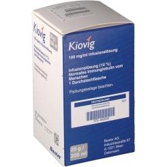 Kiovig 100 mg/ml Infusionslösung