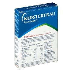 KLOSTERFRAU Broncholind® Echinacea Lutschbonbons + Vitamin C Zuckerfrei