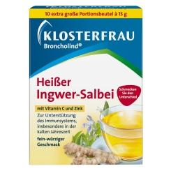KLOSTERFRAU Broncholind® Heißer Ingwer-Salbei