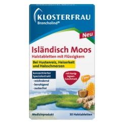 KLOSTERFRAU Broncholind® Isländisch Moos Halstabletten mit Flüssigkern