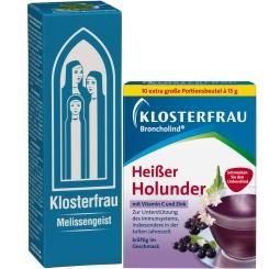 KLOSTERFRAU Melissengeist + Broncholind® Heißer Holunder GRATIS