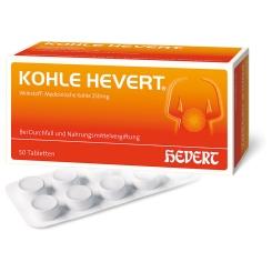 KOHLE HEVERT® Tabletten