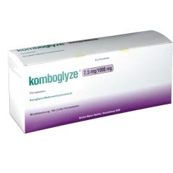 KOMBOGLYZE 2,5 mg/1000 mg Filmtabletten