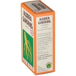 Korea Ginseng Kapseln extra stark