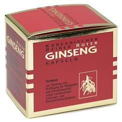 Koreanischer Roter Ginseng 300 mg Kapseln