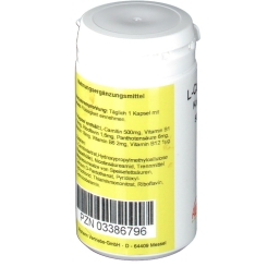 L-Carnitin 500 mg Kapseln