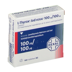 L-thyrox Jod Hexal 100/100 Tabletten