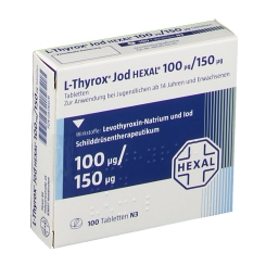 L-thyrox Jod Hexal 100/150 Tabletten