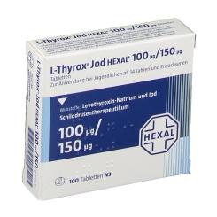 L-thyrox Jod Hexal 100/150 Tabletten