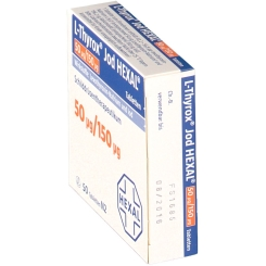 L-thyrox Jod Hexal 50/150 Tabletten