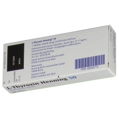 L-thyroxin 50 Henning Tabletten
