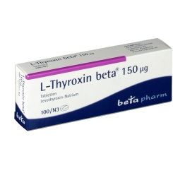 L-thyroxin beta 150 µg Tabletten