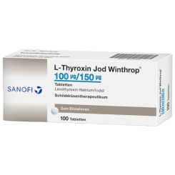 L-THYROXIN Jod Winthrop 100 µg/150 µg Tabletten