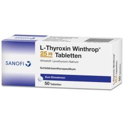 L-THYROXIN Winthrop 25 µg Tabletten