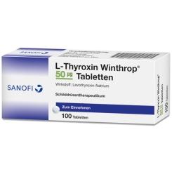 L-THYROXIN Winthrop 50 µg