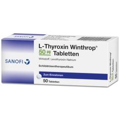 L-THYROXIN Winthrop 50 µg Tabletten