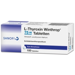 L-THYROXIN Winthrop 75 µg