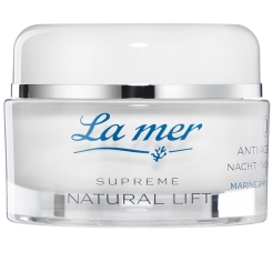 La mer Supreme Natural Lift Anti Age Cream Tag mit Parfüm