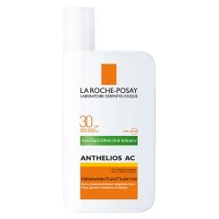 LA ROCHE-POSAY Anthelios AC LSF 30 Fluid + After-Sun-Gel GRATIS