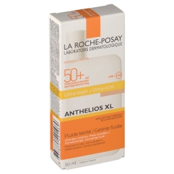 LA ROCHE-POSAY Anthelios XL LSF 50+ Getöntes Fluid + After-Sun-Gel GRATIS
