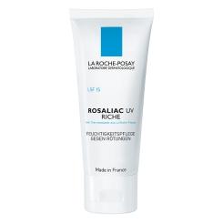 LA ROCHE-POSAY Rosaliac UV Riche + 50 ml Rosaliac Reinigungsgel GRATIS