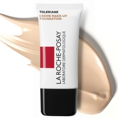 LA ROCHE-POSAY Toleriane Teint Fresh Make-Up Sand Nr. 3 + 50 ml Reactive Mizellen Reinigung GRATIS