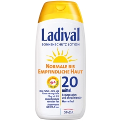 Ladival® normale bis empfindliche Haut Lotion LSF 20