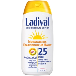 Ladival® normale bis empfindliche Haut Lotion LSF 25