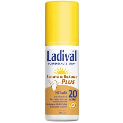 Ladival® Schutz & Bräune Plus Spray LSF 20