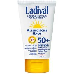 Ladival® Sonnenschutz Gel Allergische Haut für das Gesicht LSF 50+