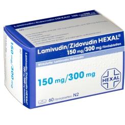 LAMIVUDIN/ZIDOVUDIN HEXAL 150 mg/300 mg