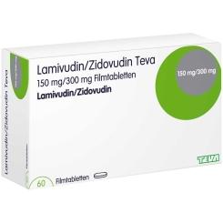 LAMIVUDIN/ZIDOVUDIN Teva 150 mg/300 mg Filmtabl.