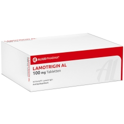 Lamotrigin AL 100 mg Tabletten