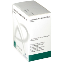 LAMOTRIGIN Aurobindo 50 mg Tabletten