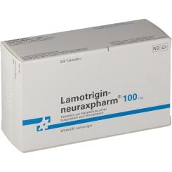 LAMOTRIGIN neuraxpharm 100 mg Tabletten