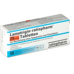 LAMOTRIGIN ratiopharm 25 mg Tabletten