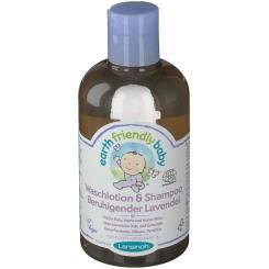 LANSINOH Earth Friendly Baby® Waschlotion & Shampoo Beruhigender Lavendel
