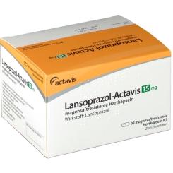 LANSOPRAZOL Actavis 15 mg magensaftres. Kapseln