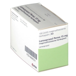 LANSOPRAZOL Pensa 15 mg magensaftres. Kapseln