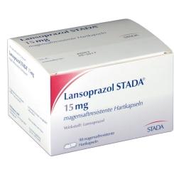 LANSOPRAZOL STADA 15 mg magensaftres. Kapseln