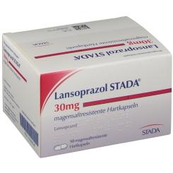 LANSOPRAZOL STADA 30 mg magensaftres. Kapseln