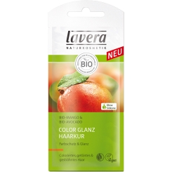 lavera Hair Color Glanz Haarkur im Sachet