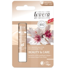 lavera Lippenbalsam Beauty & Care nude