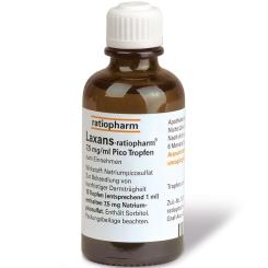 Laxans-ratiopharm® 7,5 mg/ml Pico Tropfen